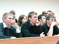 студенты ПетрГУ на конференции