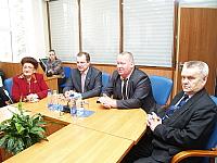 Встреча с выпускниками шести межфакультетских групп студентов ПетрГУ