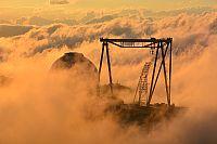 БТА – самый крупный телескоп России, в облаках