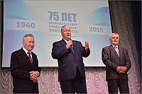 М.И. Шумилов, В.А. Воронин, В.Н. Васильев