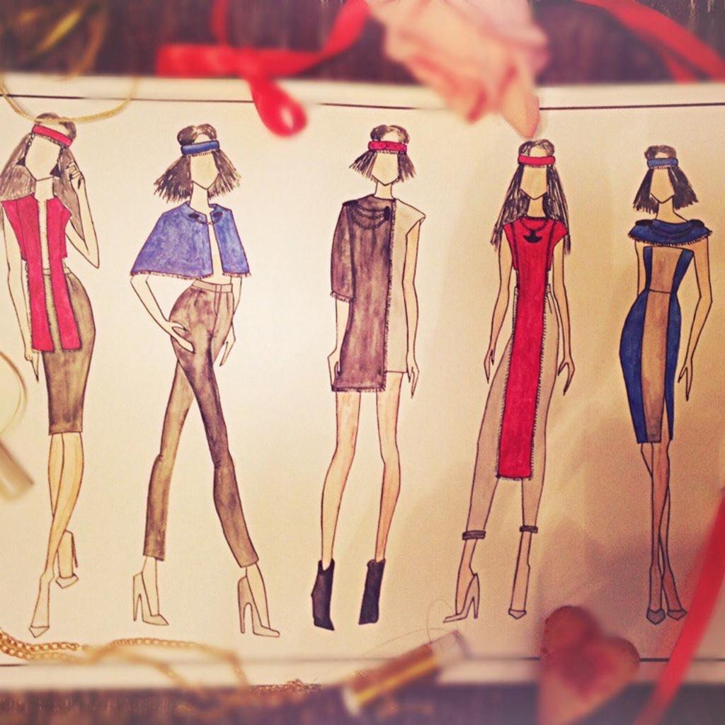 Дизайн одежды и аксессуаров это