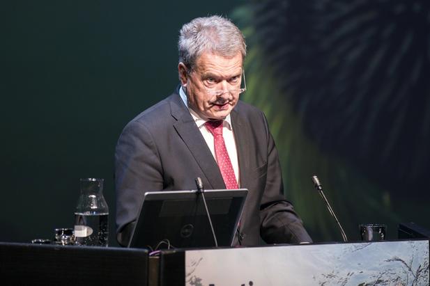 Sauli Niinistö, President of the Republic of Finland